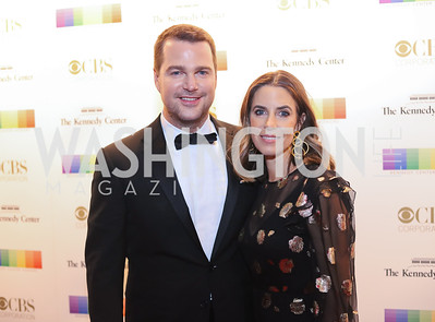 Chris O'Donnell and Caroline Fentress. Photo by Tony Powell. 2016 Kennedy Center Honors Red Carpet. December 4, 2016