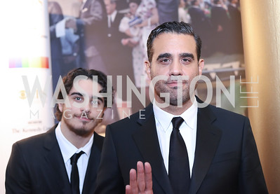 Jake Cannavale and Bobby Cannavale. Photo by Tony Powell. 2016 Kennedy Center Honors Red Carpet. December 4, 2016