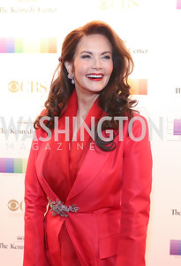 Lynda Carter. Photo by Tony Powell. 2016 Kennedy Center Honors Red Carpet. December 4, 2016