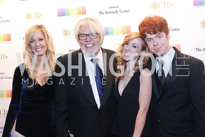 Nita Seger and Singer Bob Seger, Samantha Seger and Cole Seger. Photo by Tony Powell. 2016 Kennedy Center Honors Red Carpet. December 4, 2016