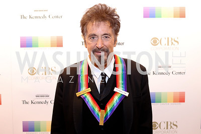 Honoree Al Pacino. Photo by Tony Powell. 2016 Kennedy Center Honors Red Carpet. December 4, 2016
