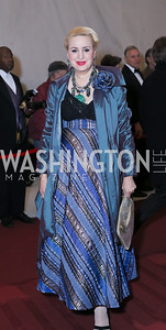 Christine Warnke. Photo by Tony Powell. 2016 Kennedy Center Honors Red Carpet. December 4, 2016