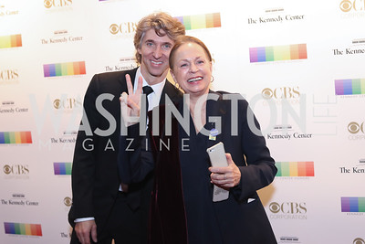 Damian Woetzel and Heather Watts. Photo by Tony Powell. 2016 Kennedy Center Honors Red Carpet. December 4, 2016