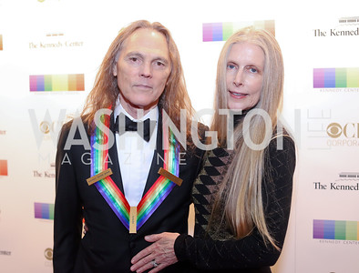 Honoree Timothy Schmit and Jean Schmit. Photo by Tony Powell. 2016 Kennedy Center Honors Red Carpet. December 4, 2016