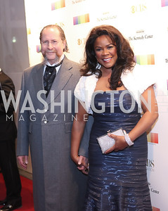 Dr. Robert Montgomery and Denyce Graves. Photo by Tony Powell. 2016 Kennedy Center Honors Red Carpet. December 4, 2016
