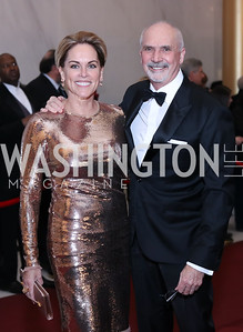 Charlotte and Bob Kettler. Photo by Tony Powell. 2016 Kennedy Center Honors Red Carpet. December 4, 2016