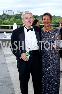 John Fawcett, Jacqui Cooper. Photo by Tony Powell. 2016 Kennedy Center Spring Gala. June 5, 2016