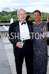 John Fawcett, Jacqui Cooper. Photo by Tony Powell. 2016 Kennedy Center Spring Gala. June 5, 2016