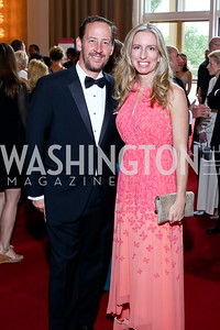 George Lowe and Boeing's Jennifer Lowe. Photo by Tony Powell. 2016 Kennedy Center Spring Gala. June 5, 2016