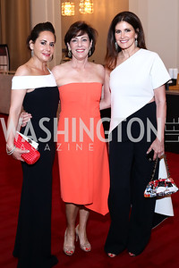 Dr. Mia Kogan, Beth Wilkinson, Kelly Fisher Katz. Photo by Tony Powell. 2016 Kennedy Center Spring Gala. June 5, 2016