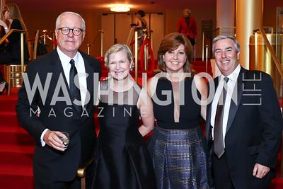 James Johnson, Heather Kirby, Valerie and Michael Reardon. Photo by Tony Powell. 2016 Kennedy Center Spring Gala. June 5, 2016