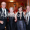 James Johnson, Heather Kirby, Valerie and Michael Reardon. Photo by Tony Powell. 2016 Kennedy Center Spring Gala. June 5, 2016