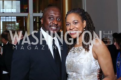 Kirk and Donna Blackman. Photo by Tony Powell. 2016 Kennedy Center Spring Gala. June 5, 2016