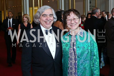 Sec. Ernest Moniz and Naomi Moniz. Photo by Tony Powell. 2016 Kennedy Center Spring Gala. June 5, 2016