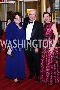 Justice Sonia Sotomayor, Richard Wesley, Adrienne Arsht. Photo by Tony Powell. 2016 Kennedy Center Spring Gala. June 5, 2016