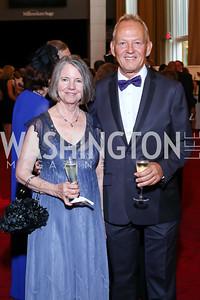 Ginny Friend, Tedd Davis. Photo by Tony Powell. 2016 Kennedy Center Spring Gala. June 5, 2016