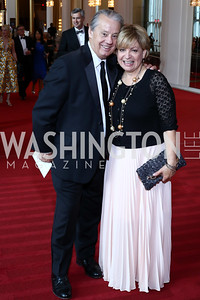 Mickey and Marcy Berra. Photo by Tony Powell. 2016 Kennedy Center Spring Gala. June 5, 2016