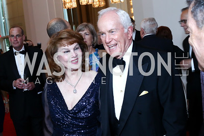Ann and Lloyd Hand. Photo by Tony Powell. 2016 Kennedy Center Spring Gala. June 5, 2016
