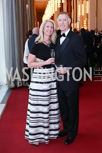 Patti and Greg Steis. Photo by Tony Powell. 2016 Kennedy Center Spring Gala. June 5, 2016