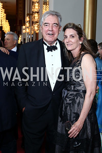 Philip Bermingham, Lisa Abeel. Photo by Tony Powell. 2016 Kennedy Center Spring Gala. June 5, 2016