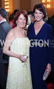 Suzy Pence, Suzanne Niedland. Photo by Tony Powell. 2016 Kennedy Center Spring Gala. June 5, 2016
