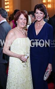 Suzy Pence, Suzanne Niedland. Photo by Tony Powell. 2016 Kennedy Center Spring Gala. June 5, 2016