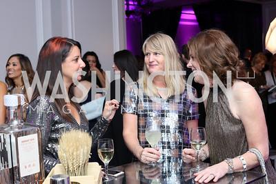 Sara Williams, Karen Marcou, Jackie Love-Baker. Photo by Tony Powell. 2016 Knock Out Abuse. Ritz Carlton. November 3, 2016