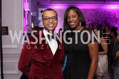 Abiye Abebe, Kadrieka Maiden. Photo by Tony Powell. 2016 Knock Out Abuse. Ritz Carlton. November 3, 2016