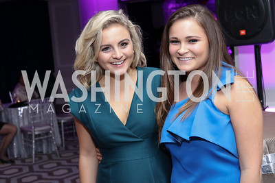 Claire Uhar, Corinne Cordell. Photo by Tony Powell. 2016 Knock Out Abuse. Ritz Carlton. November 3, 2016