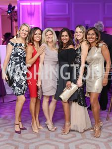 Karen Ghoorah, Francesca Gorgone, Susi Larsen, Sandhya Jopp, Ashley Baber, Gina Healy. Photo by Tony Powell. 2016 Knock Out Abuse. Ritz Carlton. November 3, 2016