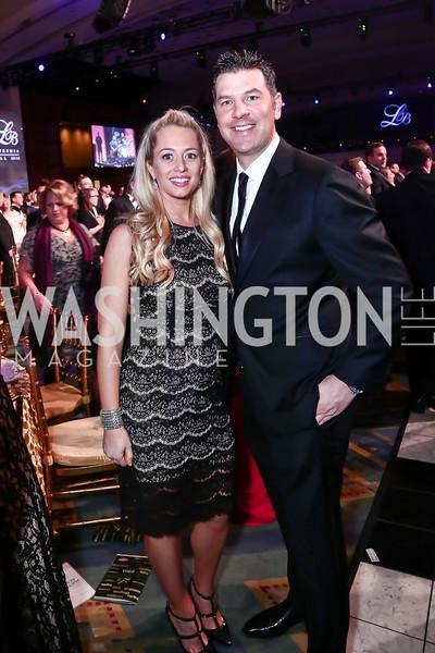 Rachel and Dan Castle. Photo by Tony Powell. 2016 Leukemia Ball. Convention Center. March 12, 2016