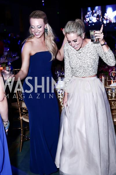 Grace Knox, Stephanie Himelfarb. Photo by Tony Powell. 2016 Leukemia Ball. Convention Center. March 12, 2016