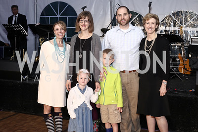Sage Bolte and the Greider Family. Photo by Tony Powell. 2016 Lobster Extravaganza. Peterson Residence. May 7, 2016