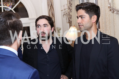 Jason Zuccari, Adrian Grenier. Photo by Tony Powell. 2016 Lonely Whale Fundraiser. September 16, 2016