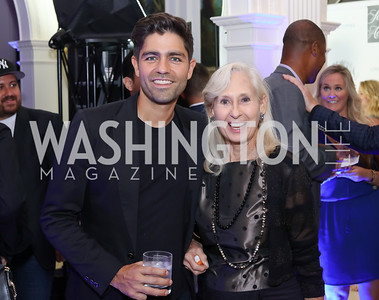 Adrian Grenier, Willee Lewis. Photo by Tony Powell. 2016 Lonely Whale Fundraiser. September 16, 2016