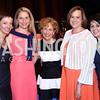 "Katie Makris, Kate Olson, Cathy Onufrychuk, Elizabeth Bradley, Michele Islas. Photo by Tony Powell. 2016 MS ""Women on the Move"" Luncheon. Wardman Park. May 19, 2016"