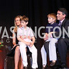 "Sara Durkin and James Rosen with their sons. Photo by Tony Powell. 2016 MS ""Women on the Move"" Luncheon. Wardman Park. May 19, 2016"