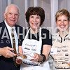 Sen. Ben Cardin and Myrna Cardin, Sous Chef Dawn Worthington. Photo by Tony Powell. 2016 March of Dimes Gourmet Gala. Building Museum. May 17, 2016