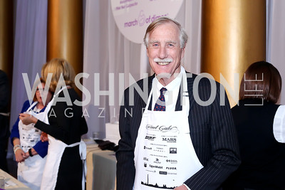 Sen. Angus King. Photo by Tony Powell. 2016 March of Dimes Gourmet Gala. Building Museum. May 17, 2016
