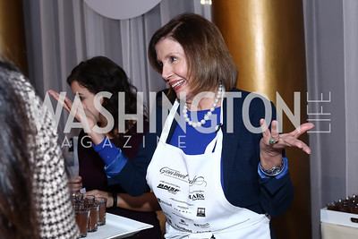 Leader Nancy Pelosi. Photo by Tony Powell. 2016 March of Dimes Gourmet Gala. Building Museum. May 17, 2016