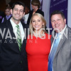 Speaker Paul Ryan, Stephanie Fischer, John Arundel. Photo by Tony Powell. 2016 March of Dimes Gourmet Gala. Building Museum. May 17, 2016