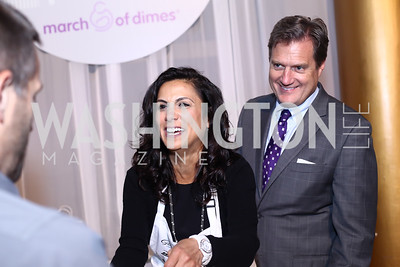 Majida Turner and Rep. Michael Turner. Photo by Tony Powell. 2016 March of Dimes Gourmet Gala. Building Museum. May 17, 2016