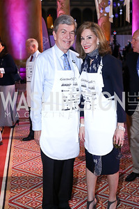 Sen. Roy and Abigail Blunt. Photo by Tony Powell. 2016 March of Dimes Gourmet Gala. Building Museum. May 17, 2016