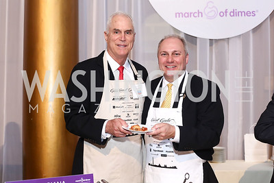 Sous Chef Dave Sander, Rep. Steve Scalise. Photo by Tony Powell. 2016 March of Dimes Gourmet Gala. Building Museum. May 17, 2016