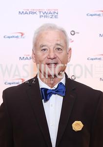Bill Murray. Photo by Tony Powell. 2016 Mark Twain Prize. Kennedy Center. October 23, 2016