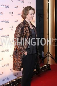 Sigourney Weaver. Photo by Tony Powell. 2016 Mark Twain Prize. Kennedy Center. October 23, 2016