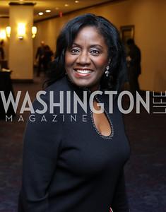 Dr. Linda Wharton-Boyd. Photo by Tony Powell. Mary's Center Noche Tropical Gala. October 28, 2016