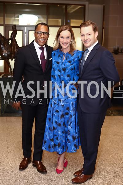 Jonathan Capehart, Kathleen Biden, Nick Schmit. Photo by Tony Powell. 2016 McGovern-Dole Leadership Award. OAS. April 12, 2016