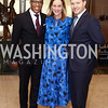 Jonathan Capehart, Kathleen Biden, Nick Schmit. Photo by Tony Powell. 2016 McGovern-Dole Leadership Award. OAS. April 12, 2016