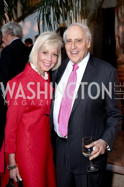 Sharon Glickman and Dan Glickman. Photo by Tony Powell. 2016 McGovern-Dole Leadership Award. OAS. April 12, 2016